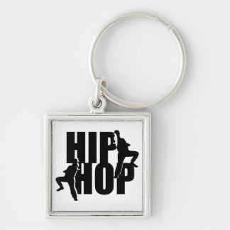 Hip Hop Dance Girls Text Design Keychain