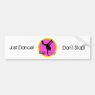 HIP HOP Dance moves Car Bumper Sticker