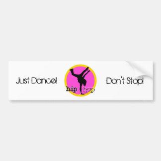 HIP HOP Dance moves Car Bumper Sticker
