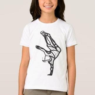 Hip Hop Dance Ringer Tee (Girls)