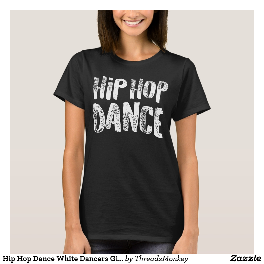 Hip Hop Dance White Dancers Gift Light T-Shirt - Best Selling Long-Sleeve Street Fashion Shirt Designs