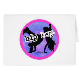 HIP HOP Dancer Card