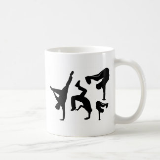 hip hop dancer coffee mug