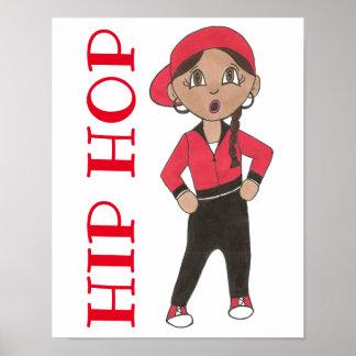 Hip Hop Dancer Dance Studio School Decor Hiphop