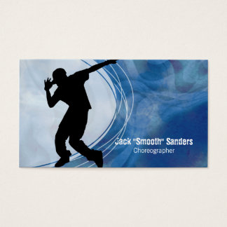 Hip Hop Dancer Grunge Choreographer Business Card