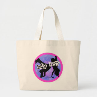 HIP HOP Dancer Large Tote Bag