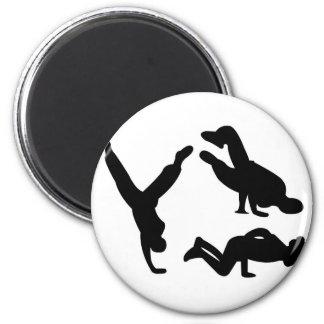 hip hop dancer magnet
