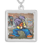 Hip Hop Dancer Necklace