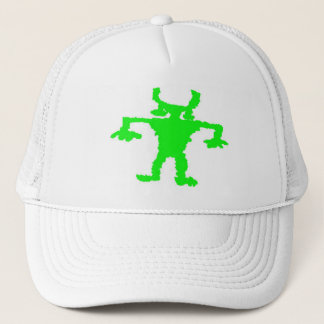Hip hop dancer petroglyph trucker hat