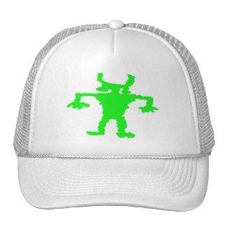 Hip hop dancer petroglyph trucker hat