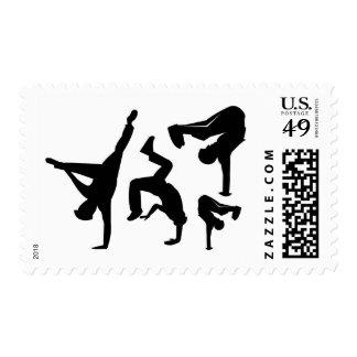 hip hop dancer postage