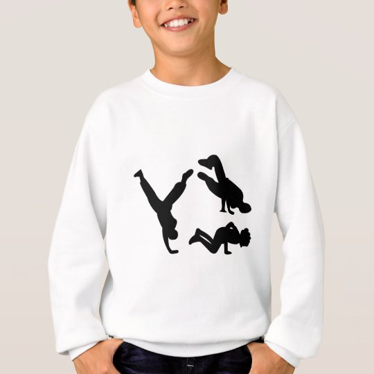 hip hop dancer sweatshirt