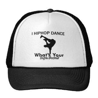Hip Hop dancing designs Trucker Hat