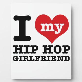 Hip Hop dancing Girlfriend designs Plaques