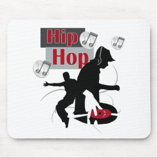 Hip Hop Dancing silloette final Mouse Pad