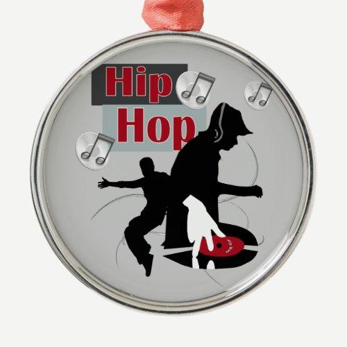 Hip Hop Dancing With DJ Ornament