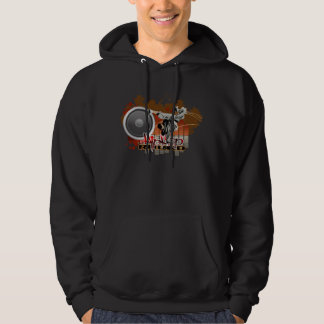 Hip Hop - Dark Hooded Sweatshirt