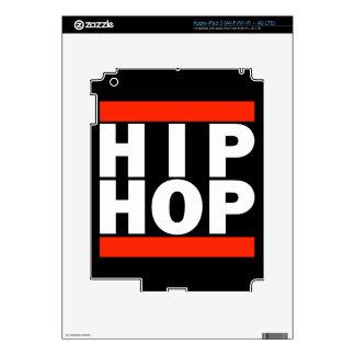 HIP HOP! DECAL FOR iPad 3