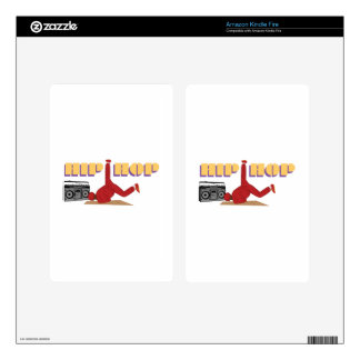 Hip Hop Decals For Kindle Fire