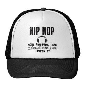 hip hop design trucker hat