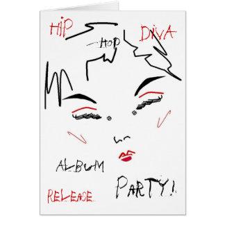 Hip-Hop Diva Album Release Party I Card