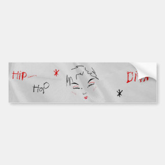 Hip-Hop Diva I Bumper Sticker Car Bumper Sticker