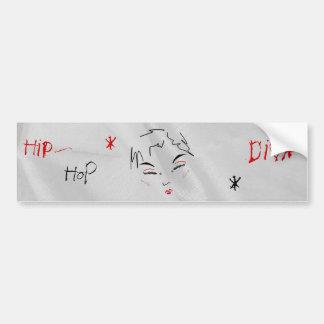 Hip-Hop Diva I Bumper Sticker Bumper Stickers