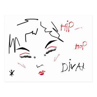 Hip-Hop Diva Postcards