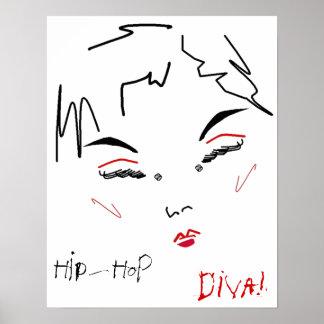 Hip-Hop Diva Poster