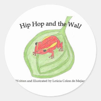 Hip Hop el pegatina de la rana