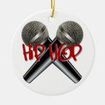 Hip Hop - el rap DJ de la bujía métrica golpea el Adornos De Navidad