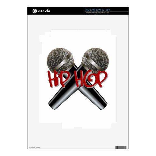 Hip Hop - el rap DJ de la bujía métrica golpea el  iPad 2 Skins
