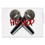 Hip Hop - el rap DJ de la bujía métrica golpea el  Tarjeton