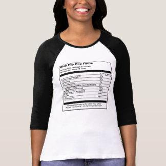 """""""Hip Hop Facts"""" Women's Raglan T-Shirt"""
