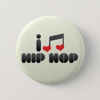 Hip Hop fan Button