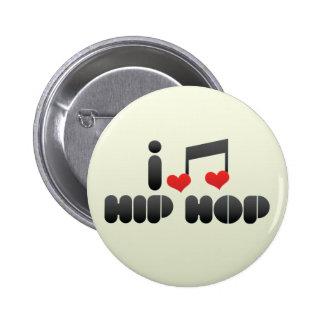 Hip Hop fan Pinback Button