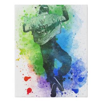 Hip-Hop Faux Canvas Print