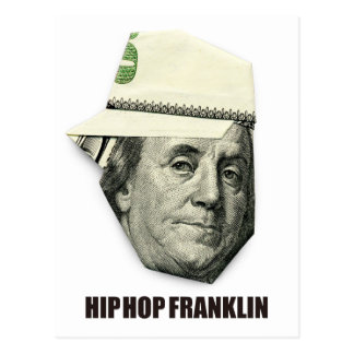 HIP HOP FRANKLIN POST CARD