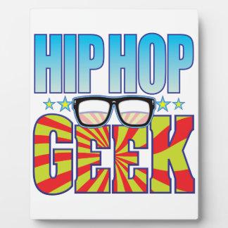 Hip Hop Geek v4 Photo Plaques