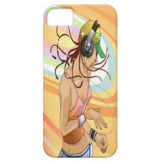 Hip Hop Girl iPhone 5 Case Mate