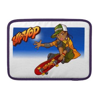 Hip Hop girl skateboard Cartoon MacBook Air Sleeve