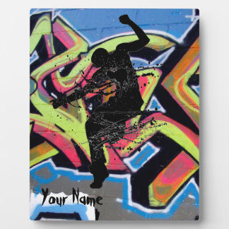 Hip Hop Graffiti Dancer Personalized Plaque