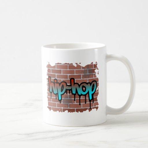 hip hop graffiti  design mug