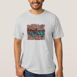 hip hop graffiti  design t-shirt