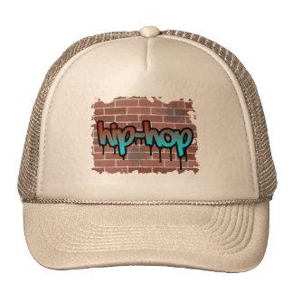 hip hop graffiti  design trucker hats