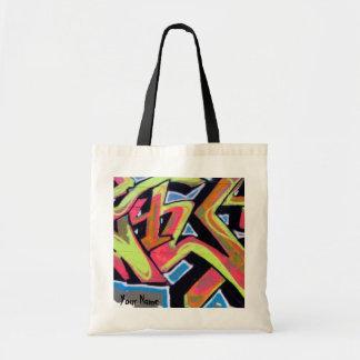 Hip Hop Graffiti Personalized Tote Bag