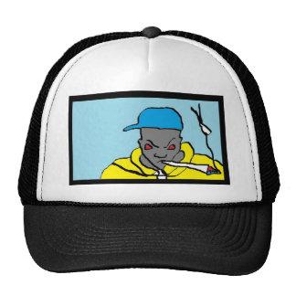 Hip hop head trucker hats
