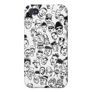 Hip Hop Headz iPhone 4 Carcasa