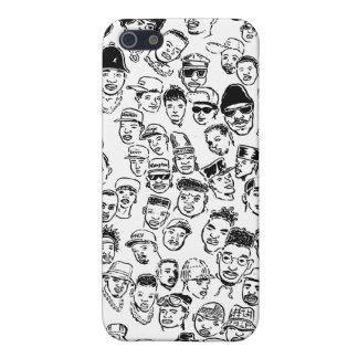 Hip Hop Headz iPhone SE/5/5s Cover