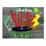 Hip-Hop Hip-Hop Postcard